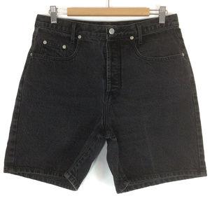 Guess 80's Vintage HiRise Mom Jean Shorts
